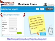 Business Loans Bad Credit