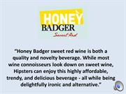 honey badger wine video