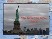 New York, New York...(Sandy)