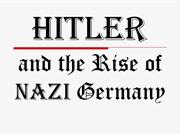 Hitler and the rise of nazi