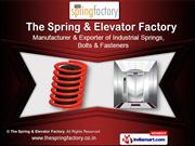 Industrial Springs by The Elevator & Spring Factory, Thane