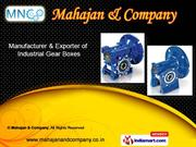 Elevator Traction Machines by Mahajan & Company, Delhi