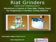 Industrial Plant Machinery by Riat Grinders, Ludhiana, Ludhiana