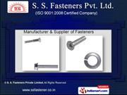 Bolts and Nuts by S. S. Fasteners Pvt. Ltd., Coimbatore