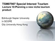 Lecture_10_Planning_a_new_niche_tourism_product