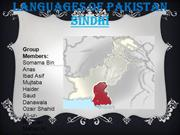 Languages of Pakistan - Sindhi