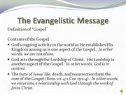 Evangelism and Church Growth: Personal Evangelism (Part 2)