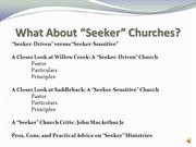 Evangelism and Church Growth: American Church Growth (Part 2)