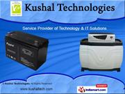 Traction Batteries by Kushal Technologies, Pune