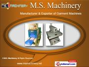 Curing Machine by M.S. Machinery, Mumbai