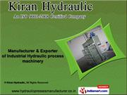 Hydraulic Presses by Kiran Hydraulic, Mumbai