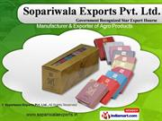 Tobacco Products by Sopariwala Exports Pvt. Ltd., Mumbai