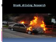 Drunk driving Research