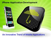 iPhone Application Development : An Innovative Trend of Mobile Apps