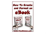 How To Create And Format An eBook