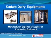 Tanks & Coolers by Kadam Dairy Equipments Pvt Ltd, Pune, Pune