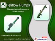 Screw Pumps by Heliflow Pumps, Coimbatore