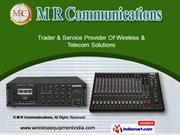 Base/Mobile Radios by M R Communications, Bengaluru