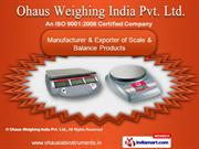 Industrial Scales by Ohaus Weighing India Pvt. Ltd., Mumbai