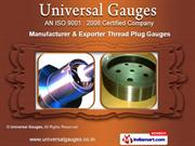Thread Ring Gauges by Universal Gauges, Pune