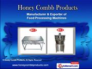Ribbon Blender Machine by Honey Combb Products, Ahmedabad