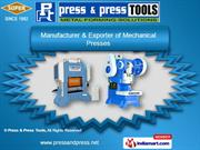 Hydraulic Press by Press & Press Tools, Ahmedabad