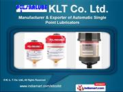Automatic Single Point Lubricator by K. L. T. Co. Ltd, Seoul