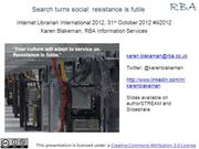 Search turns social: resistance is futile