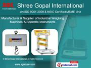 Table Top Weighing Scale by Shree Gopal International, Kolkata