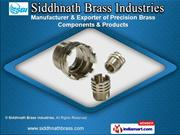 Brass Heavy Turned Parts by Siddhnath Brass Industries, Jamnagar