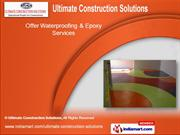 Water Proofing Contractors by Ultimate Construction Solutions, Chennai