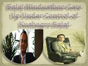 Bajaj Hindusthan Gets Up Under Control of Kushagra Bajaj