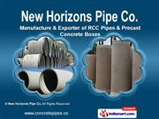 RCC Pipes by New Horizons Pipe Co, Kolkata