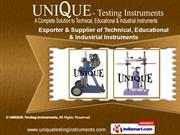Soil Testing Instruments by Unique Testing Instruments, Nagpur