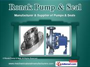 Mechanical Pumps by Ronak Pump & Seal, Surat