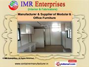 Security Cabins by IMR Enterprises, Chennai
