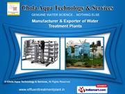 Water Treatment Plants by Chola Aqua Technology & Services, Chennai