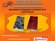 Pashmina Scarves by Impex Crafts, New Delhi