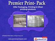 Offset Printing Services by Premier Print- Pack, New Delhi