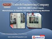 Linear Capping Machines by Unitech Engineering Company, Mumbai