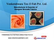 Lehenga Fabrics by Venketshwara Tex O Fab Private Limited., Surat