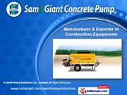 Concrete Placing Booms by Samil Heavy Industries Co., Limited, Gimhae