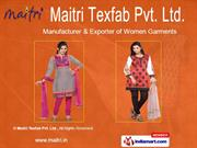 Designer Kurtis by MAITRI Texfab. Pvt. Ltd., Ahmedabad