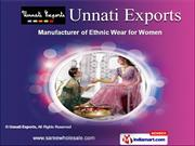 Latest Daily Wear Sarees by Unnati Exports, Ghaziabad