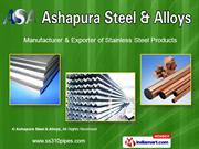 Steel Products by Ashapura Steel & Alloys, Mumbai