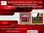 Resort Tent by Mahavira Tents India Pvt. Ltd., Ghaziabad, Ghaziabad