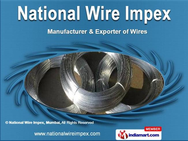 Black Annealed Wires by National Wire Impex, Mumbai, Mumbai ...