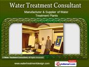 Water Treatment Plants Services by Water Treatment Consultant, Pune