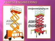 SCISSOR LIFT MANUFACTURERS INDIA