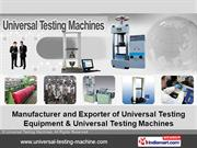 Peeling Testing Machine by Universal Testing Machines